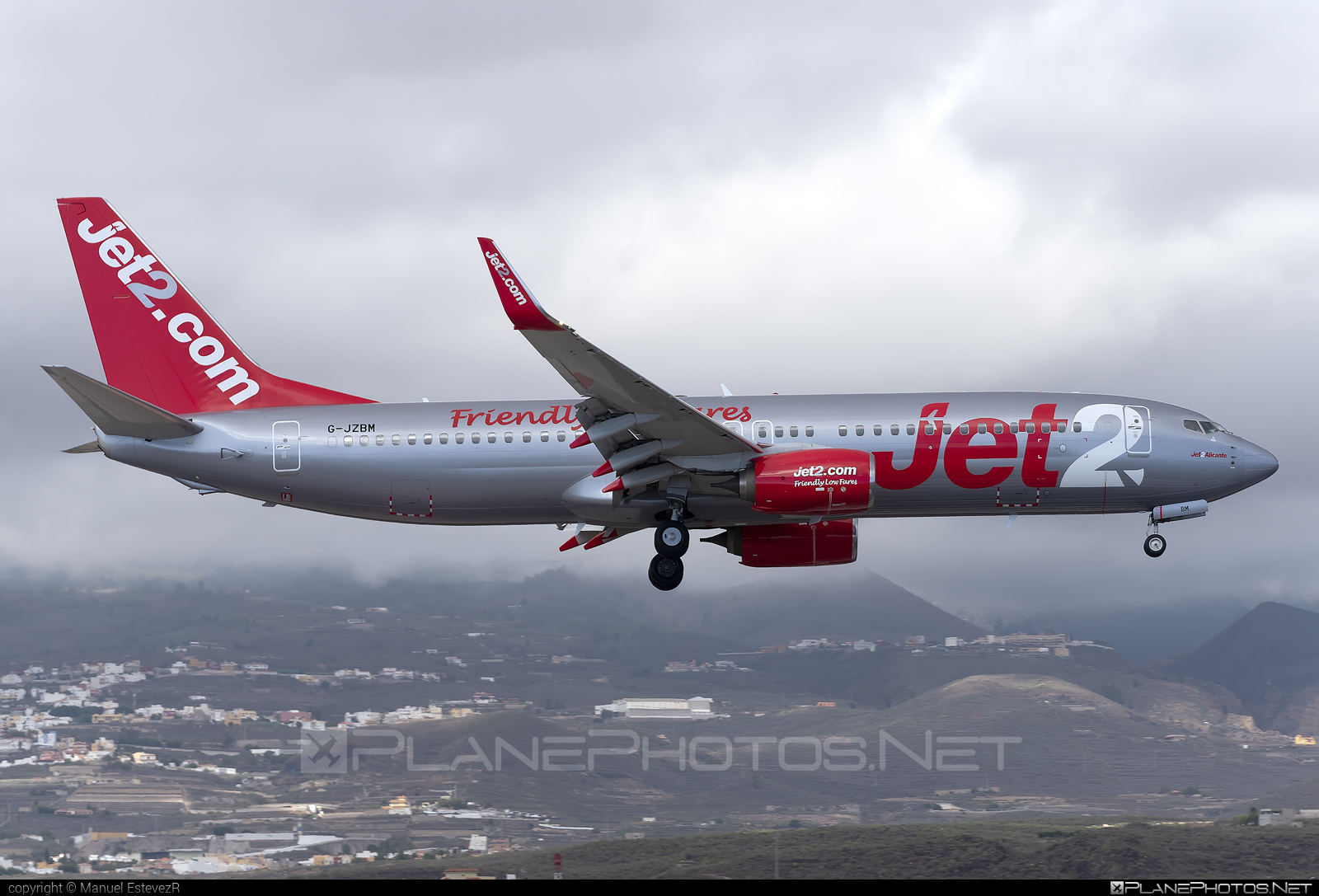 Boeing 737-800 - G-JZBM operated by Jet2 #b737 #b737nextgen #b737ng #boeing #boeing737 #jet2