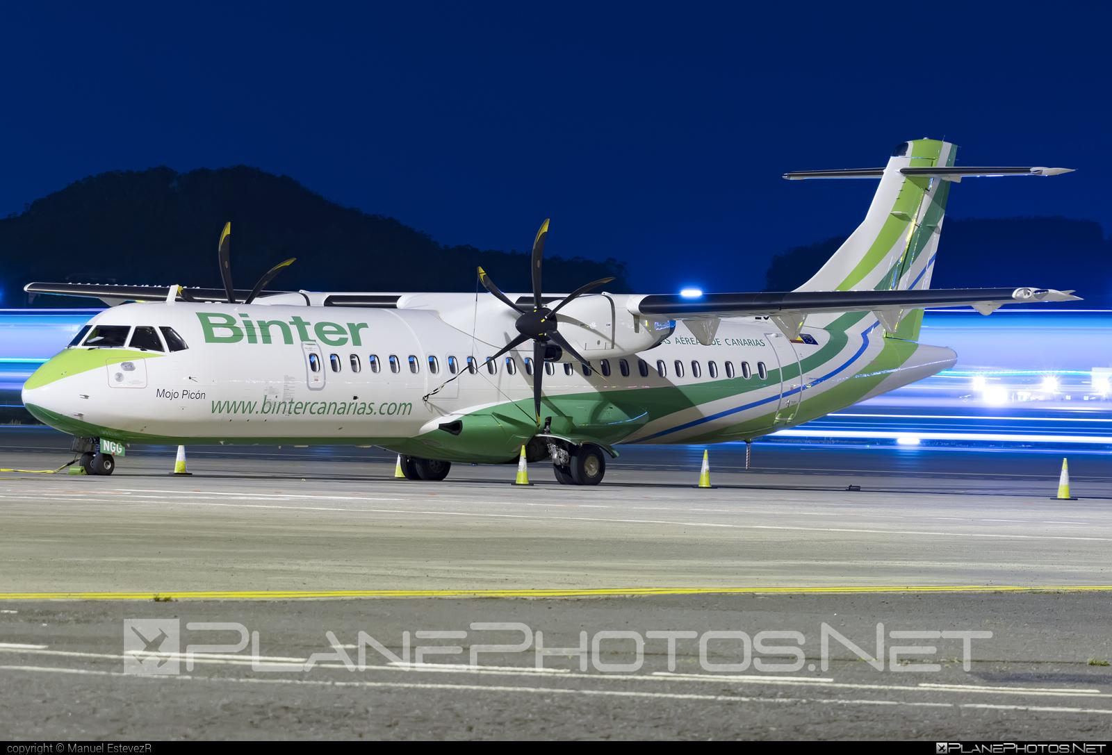 ATR 72-600 - EC-NGG operated by Binter Canarias #atr