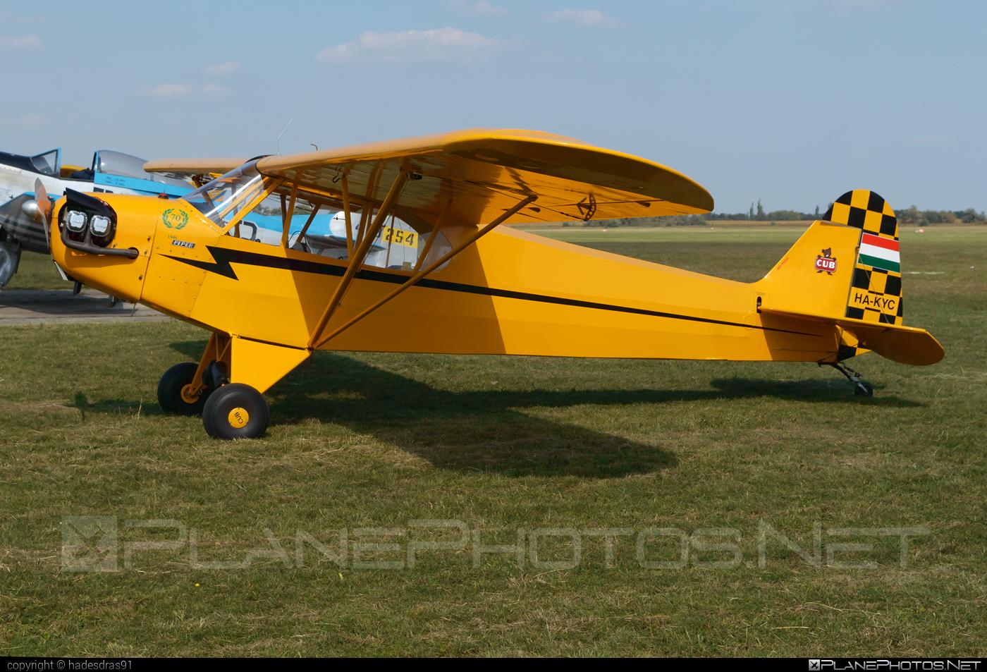 Piper J3C-65 Cub - HA-KYC operated by Private operator #piper