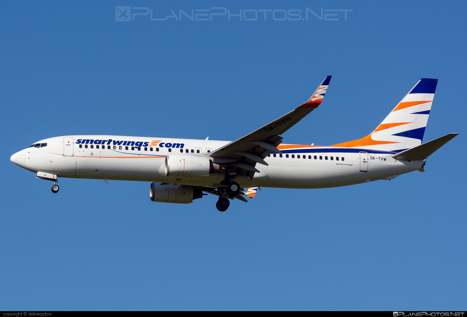 Boeing 737-800 - OK-TVW operated by Smart Wings #b737 #b737nextgen #b737ng #boeing #boeing737 #smartwings