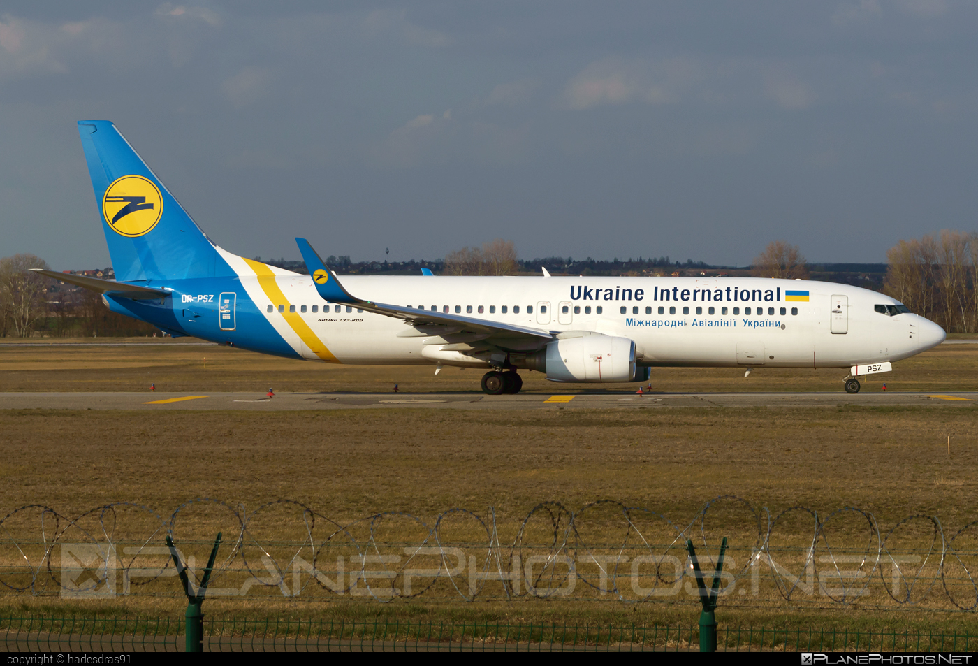 Boeing 737-800 - UR-PSZ operated by Ukraine International Airlines #b737 #b737nextgen #b737ng #boeing #boeing737 #uia #ukraineinternationalairlines
