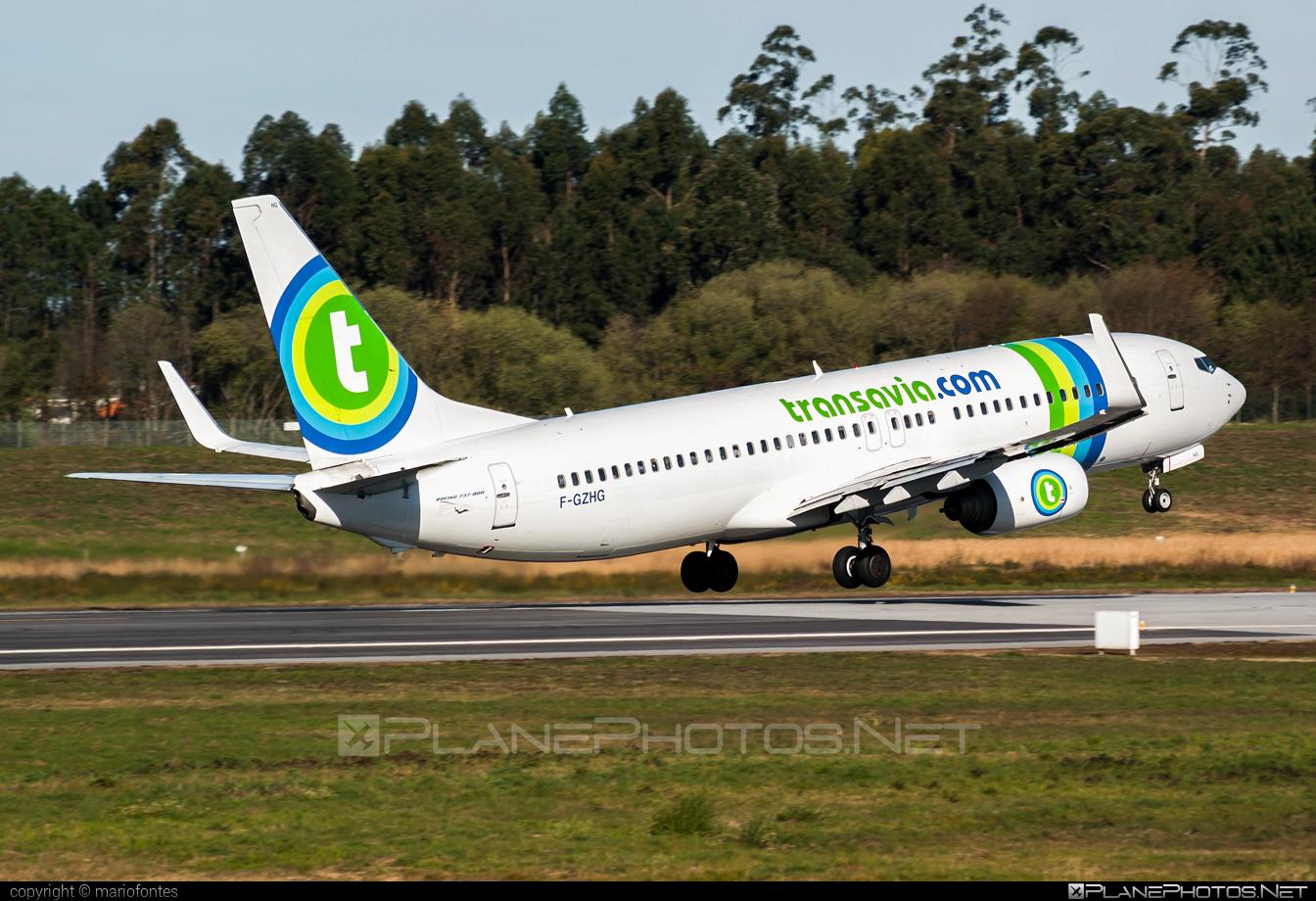 Boeing 737-800 - F-GZHG operated by Transavia France #b737 #b737nextgen #b737ng #boeing #boeing737