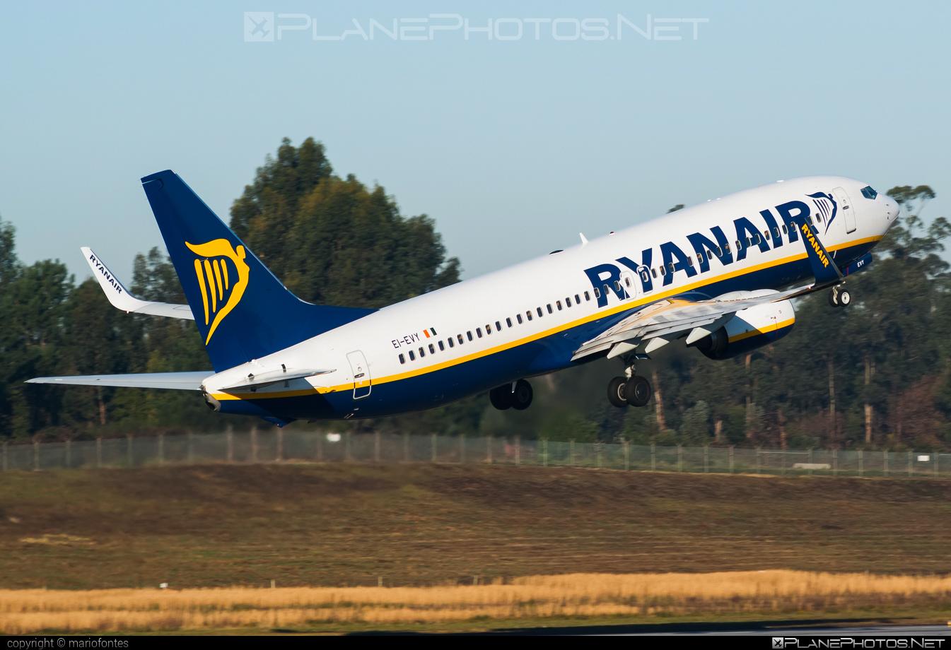 Boeing 737-800 - EI-EVY operated by Ryanair #b737 #b737nextgen #b737ng #boeing #boeing737 #ryanair