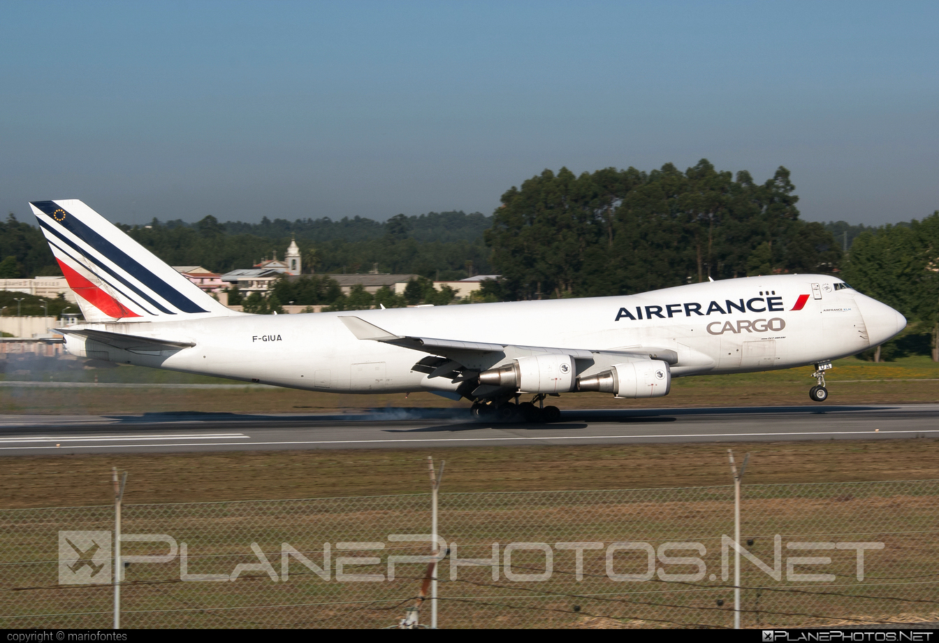 Boeing 747-400ERF - F-GIUA operated by Air France Cargo #b747 #b747erf #b747freighter #boeing #boeing747 #jumbo