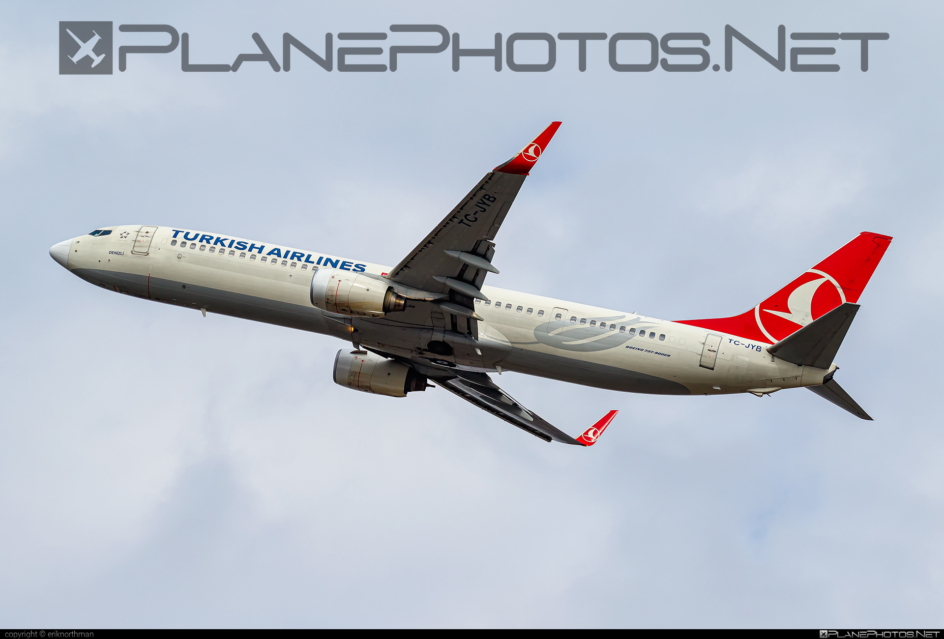 Boeing 737-900ER - TC-JYB operated by Turkish Airlines #b737 #b737er #b737nextgen #b737ng #boeing #boeing737 #turkishairlines