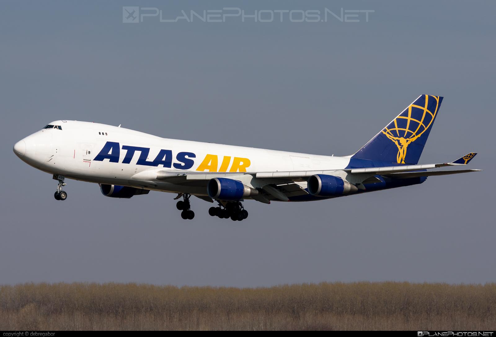 Boeing 747-400F - N499MC operated by Atlas Air #b747 #boeing #boeing747 #jumbo