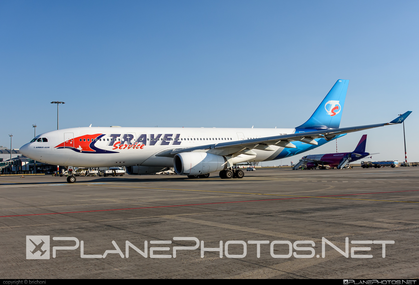 Airbus A330-243 - OK-GBB operated by Travel Service #a330 #a330family #airbus #airbus330 #travelservice