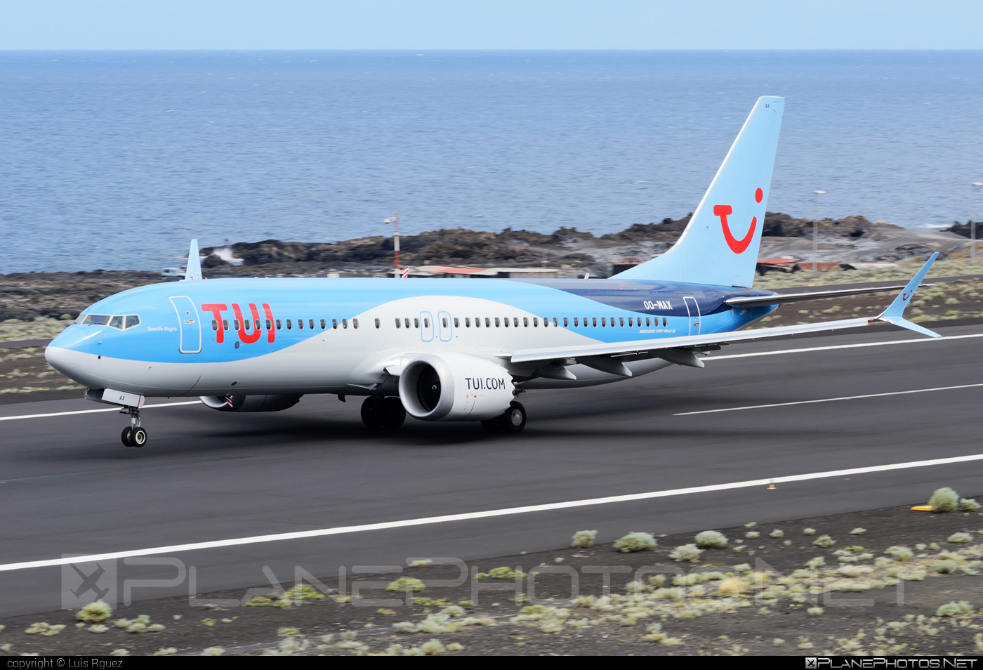 Boeing 737-8 MAX - OO-MAX operated by TUI Airlines Belgium #b737 #b737max #boeing #boeing737 #tui #tuiairlines #tuiairlinesbelgium