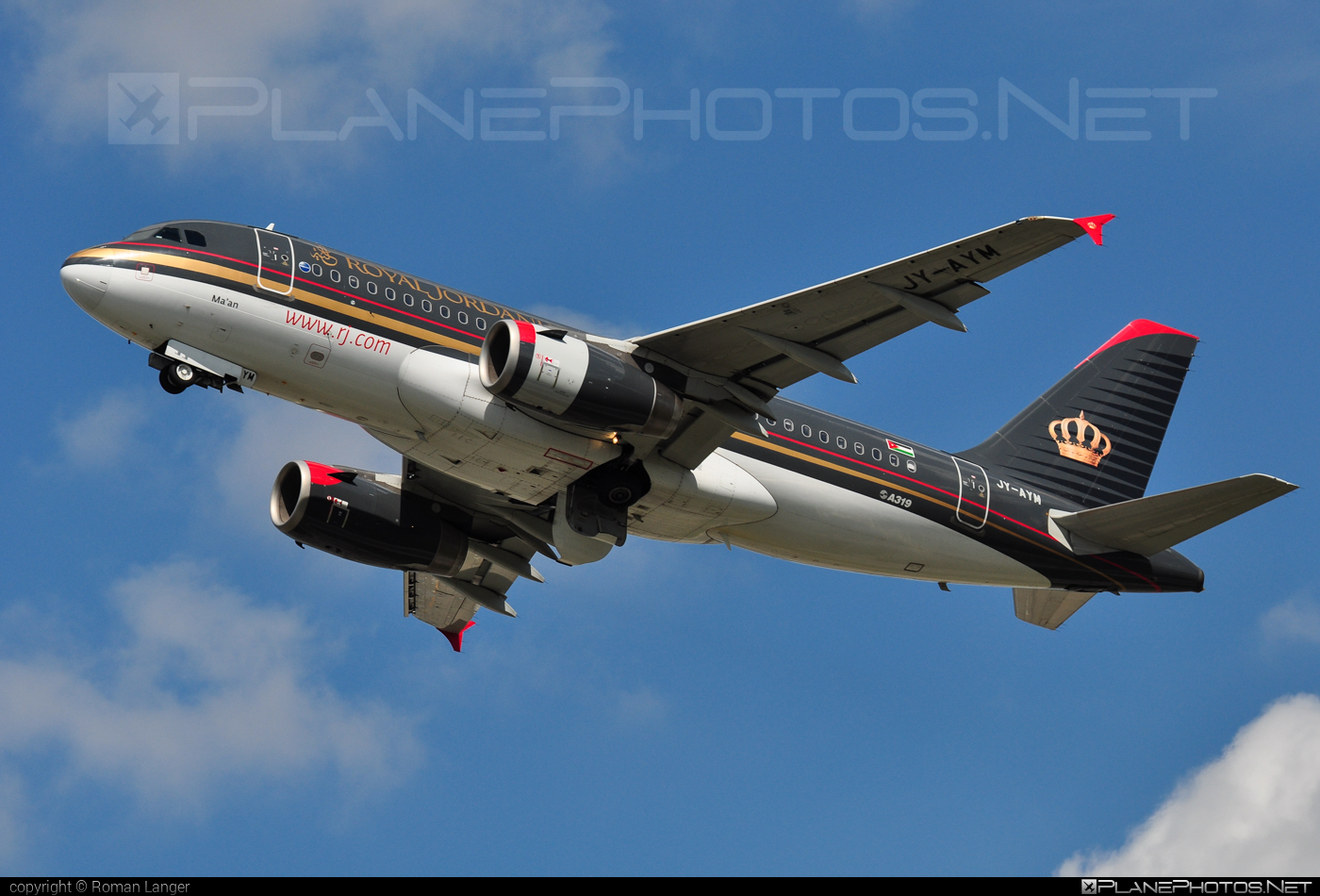 Airbus A319-132 - JY-AYM operated by Royal Jordanian #a319 #a320family #airbus #airbus319