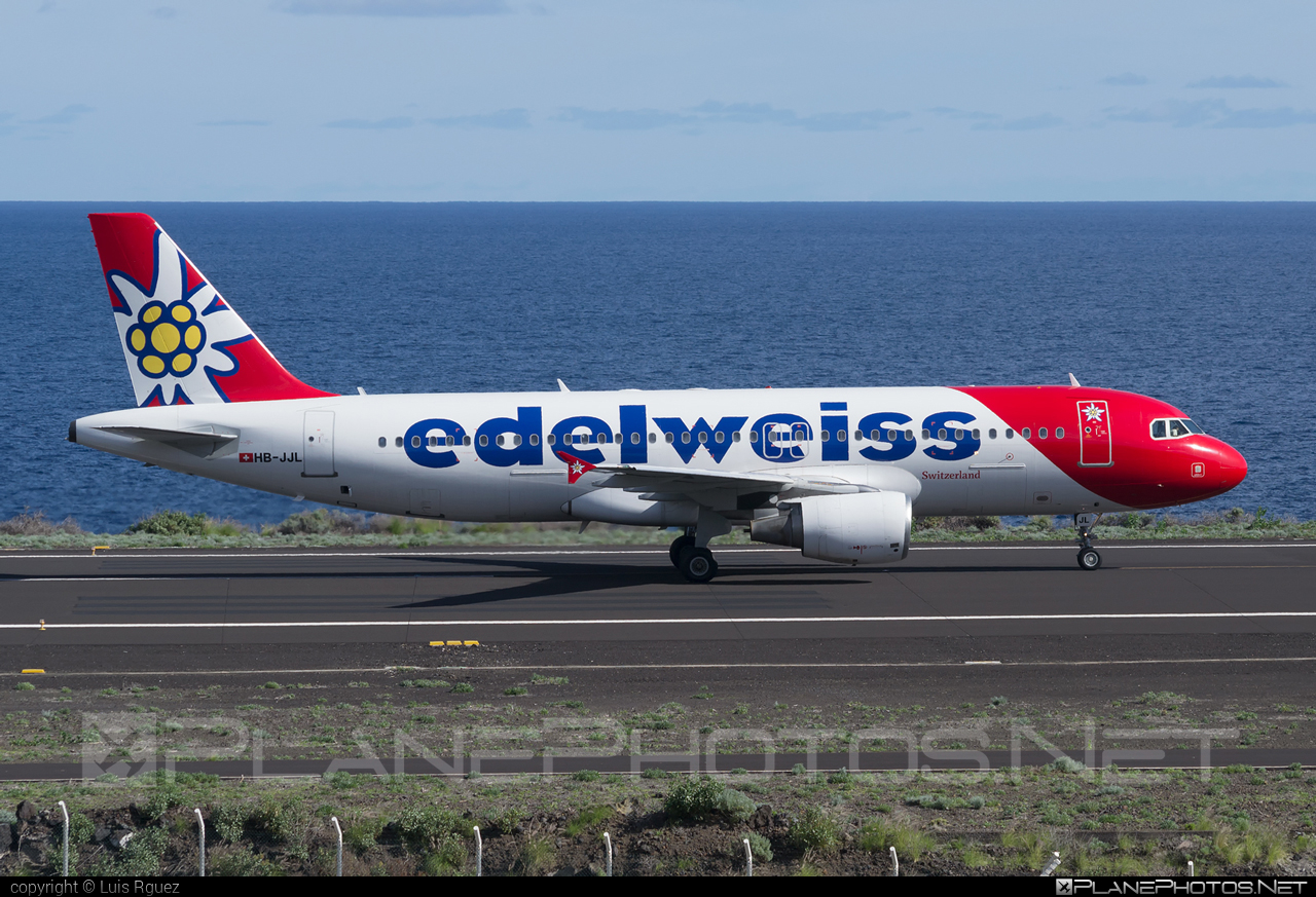 Airbus A320-214 - HB-JJL operated by Edelweiss Air #a320 #a320family #airbus #airbus320