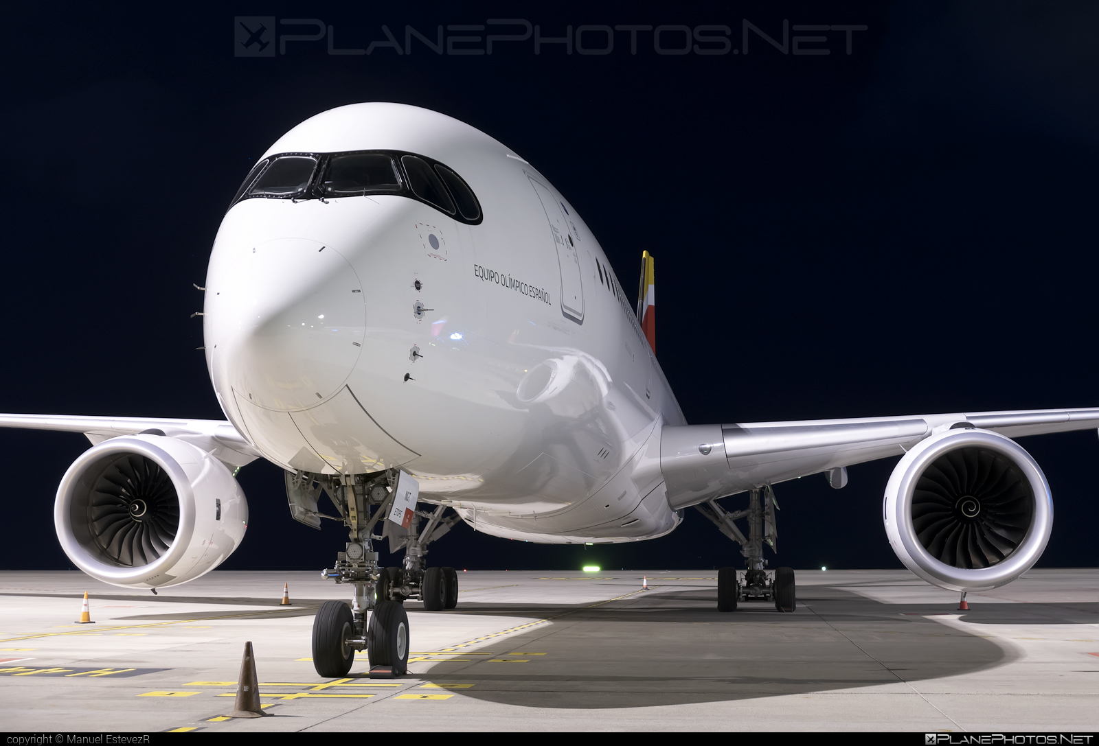 Airbus A350-941 - EC-NGT operated by Iberia #a350 #a350family #airbus #airbus350 #iberia #xwb