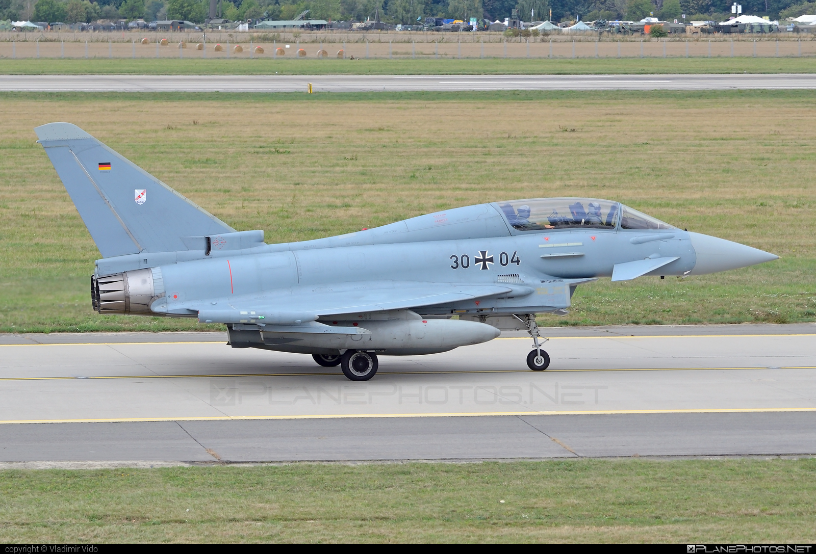 Eurofighter Typhoon T - 30+04 operated by Luftwaffe (German Air Force) #GermanAirForce #eurofighter #luftwaffe #typhoon