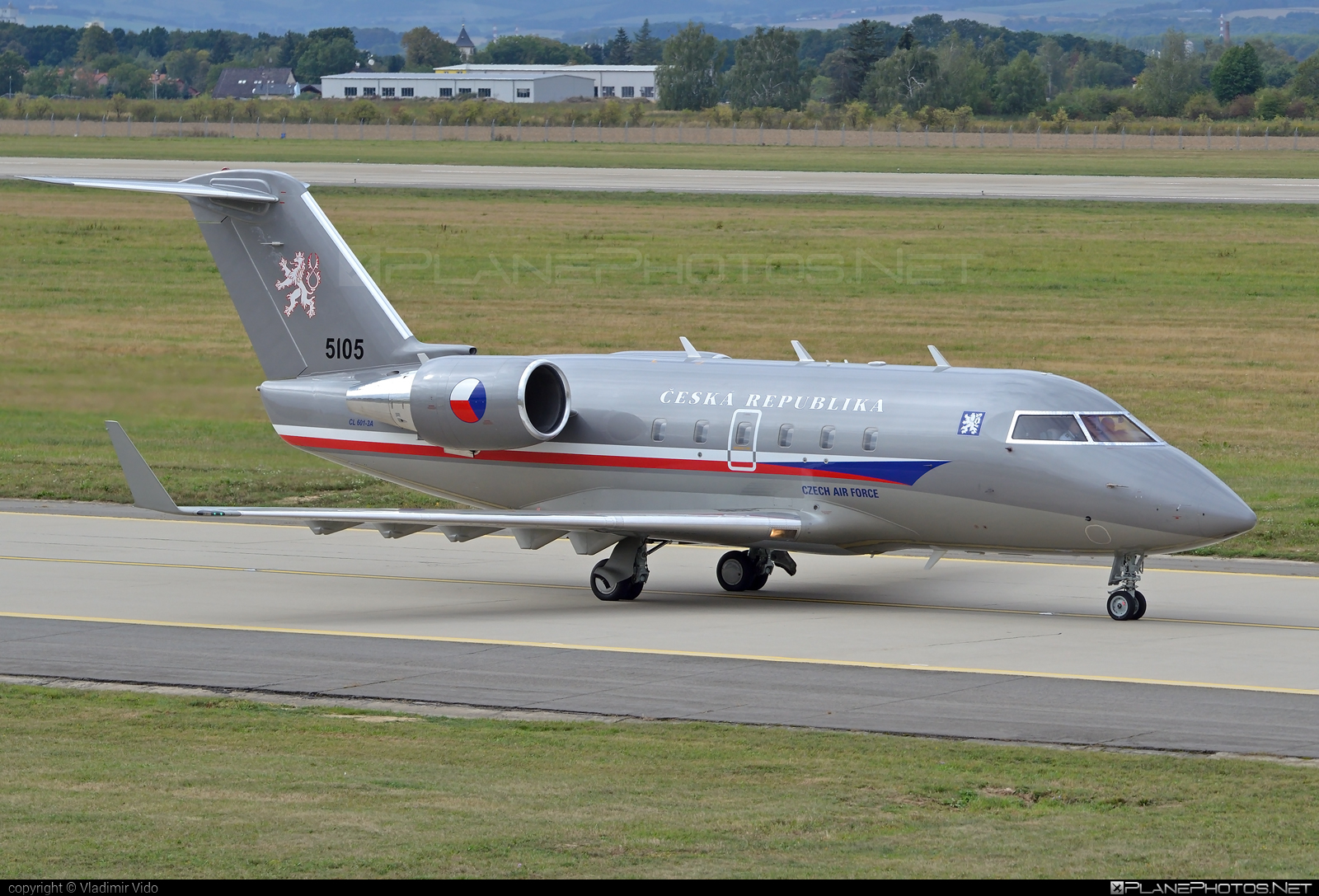 Bombardier Challenger 601-3A (CL-600-2B16) - 5105 operated by Vzdušné síly AČR (Czech Air Force) #bombardier #challenger601 #challenger6013a #cl6002b16 #czechairforce #vzdusnesilyacr