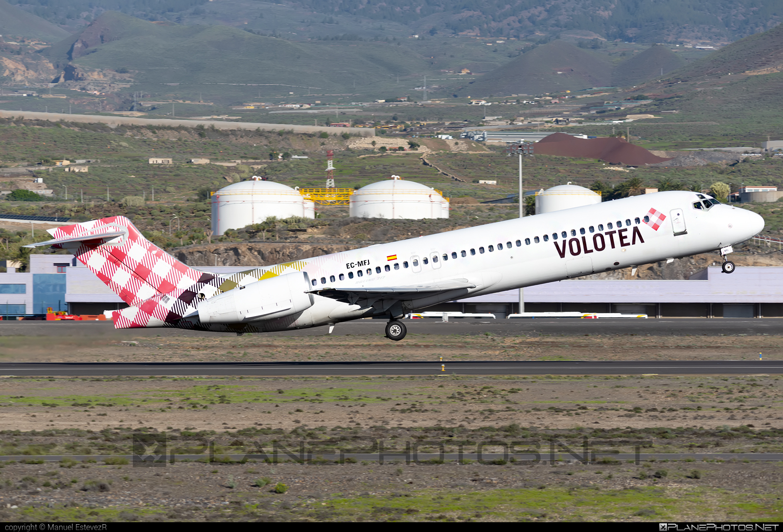 Boeing 717-200 - EC-MFJ operated by Volotea #b717 #boeing #boeing717