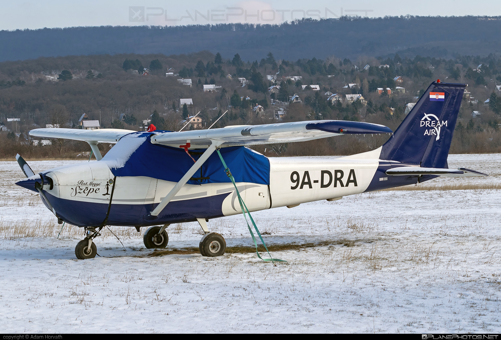Cessna 172K Skyhawk - 9A-DRA operated by Dream Air Kft. #cessna #cessna172 #cessna172k #cessna172kskyhawk #cessna172skyhawk #cessnaskyhawk #dreamairkft