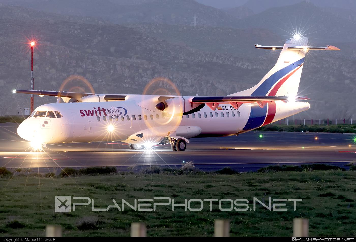 ATR 72-212A - EC-MEC operated by Swiftair #atr
