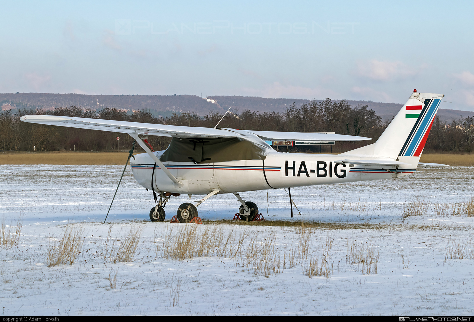 Reims F150H - HA-BIG operated by Private operator #cessna150 #f150h #reims #reims150 #reimsf150 #reimsf150h