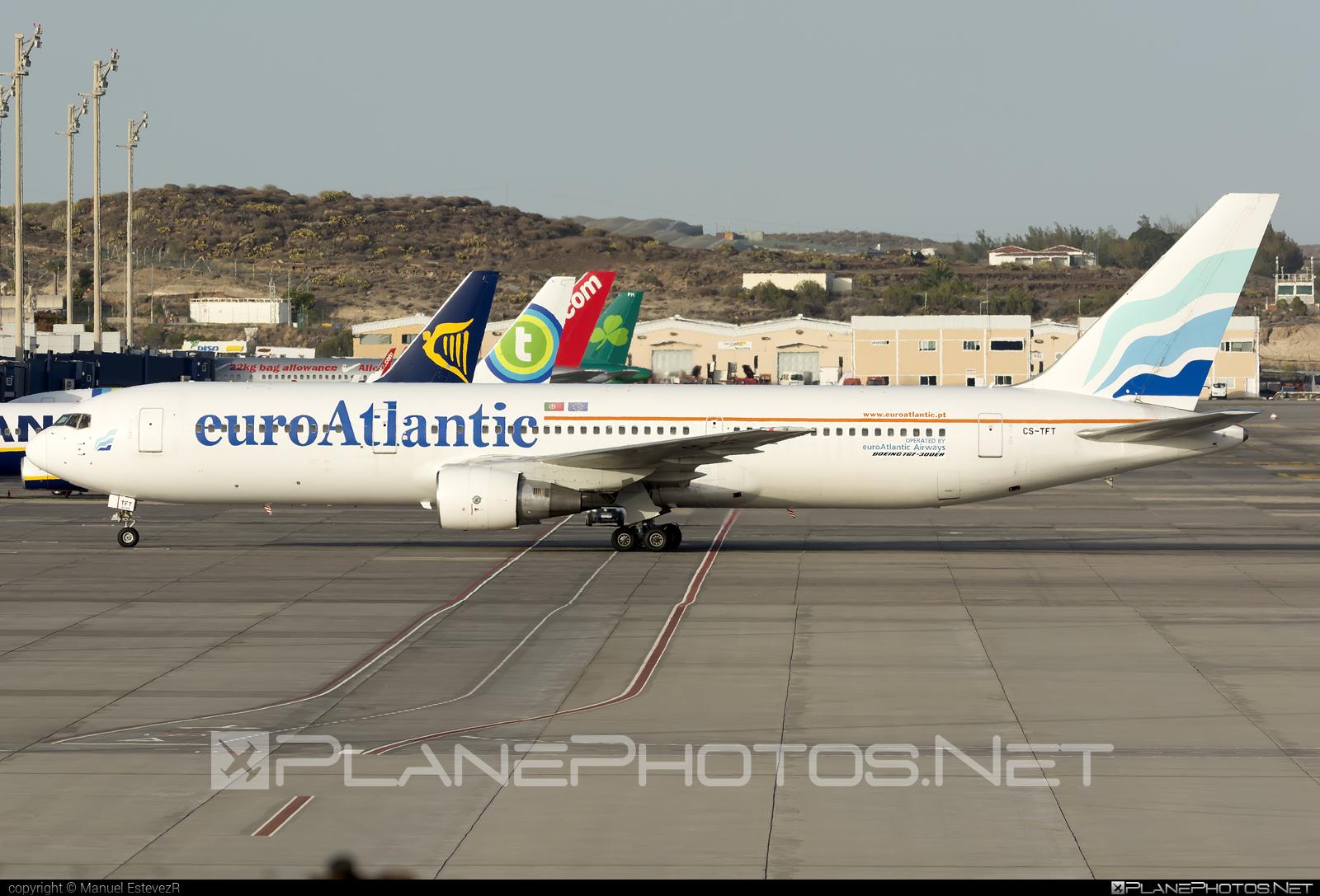 Boeing 767-300ER - CS-TFT operated by euroAtlantic Airways #b767 #b767er #boeing #boeing767 #euroatlantic #euroatlanticairways