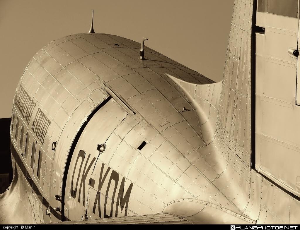 Douglas DC-3 Dakota - OK-XDM operated by ČSA Československé aerolínie #douglas