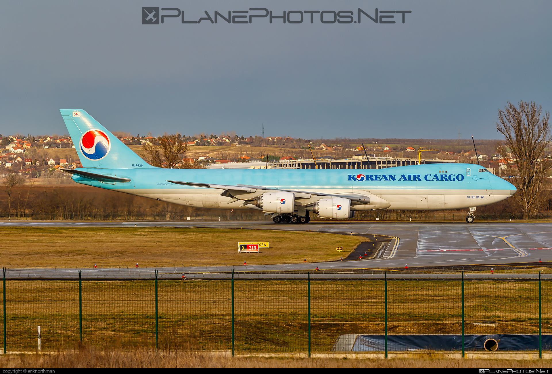 Boeing 747-8F - HL7629 operated by Korean Air Cargo #b747 #b747f #b747freighter #boeing #boeing747 #jumbo #koreanair #koreanaircargo