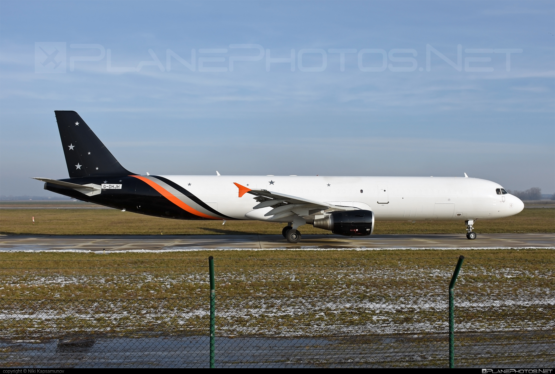 Airbus A321-211P2F - G-POWY operated by Titan Airways #a321freighter #a321p2f #airbus #titanairways