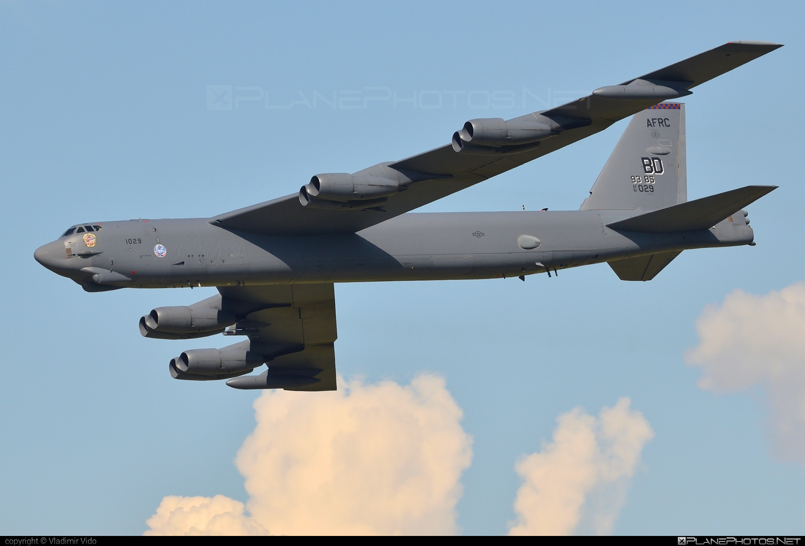 Boeing B-52H Stratofortress - 61-0029 operated by US Air Force (USAF) #b52 #b52h #boeing #boeingb52 #natodays #natodays2017 #stratofortress #usaf #usairforce