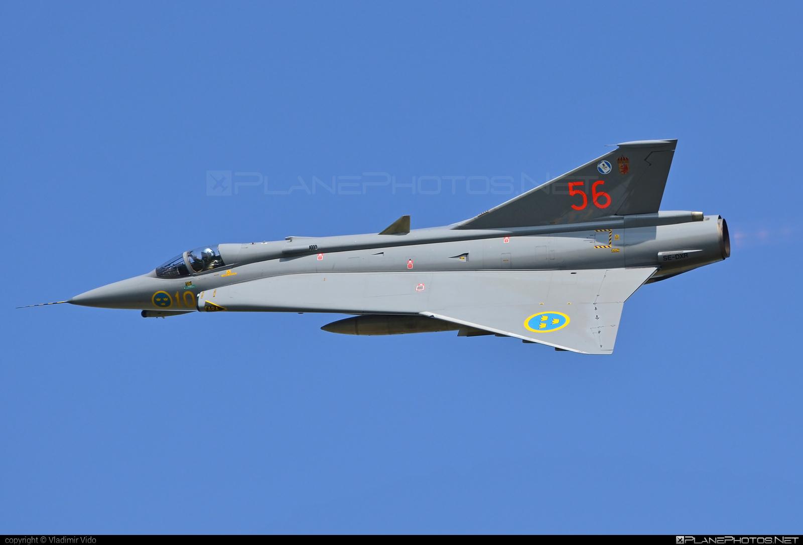 Saab J 35J Draken - SE-DXR operated by Swedish Air Force Historic Flight #draken #j35jdraken #natodays #natodays2018 #saab #saab35 #saabdraken #saabj35draken #saabj35j #saabj35jdraken