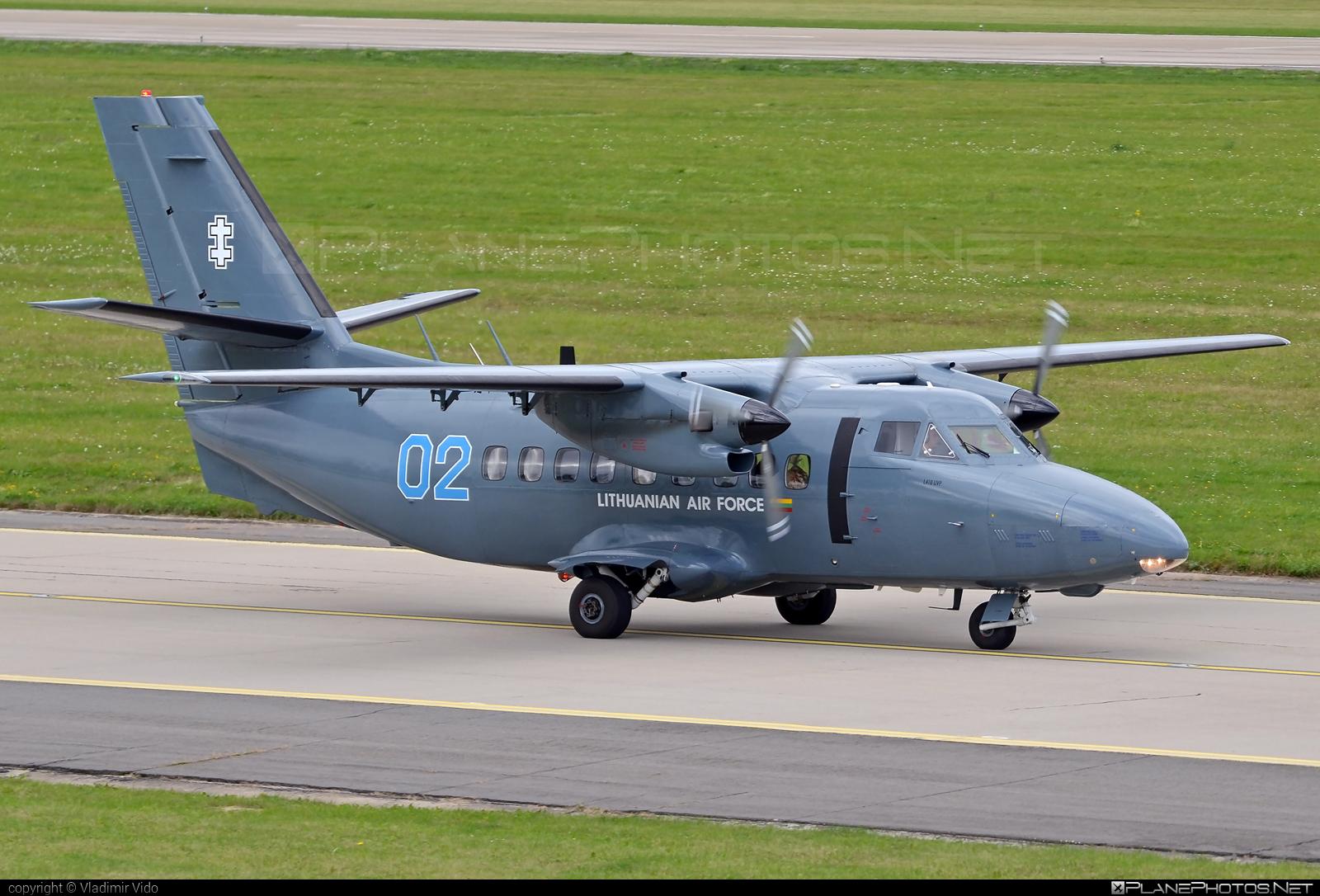 Let L-410UVP Turbolet - 02 operated by Lietuvos karinės oro pajėgos (Lithuanian Air Force) #L410 #L410Turbolet #L410uvp #L410uvpTurbolet #let #turbolet