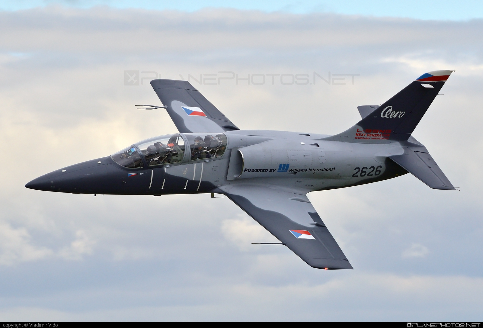 Aero L-39CW Albatros - 2626 operated by Aero Vodochody #aero #aerol39 #aerol39albatros #aerol39cwalbatros #aerovodochody #albatros #l39 #l39cw #l39cwalbatros
