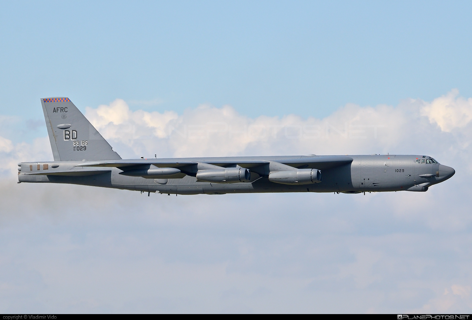 Boeing B-52H Stratofortress - 61-0029 operated by US Air Force (USAF) #b52 #boeing #stratofortress #usaf #usairforce