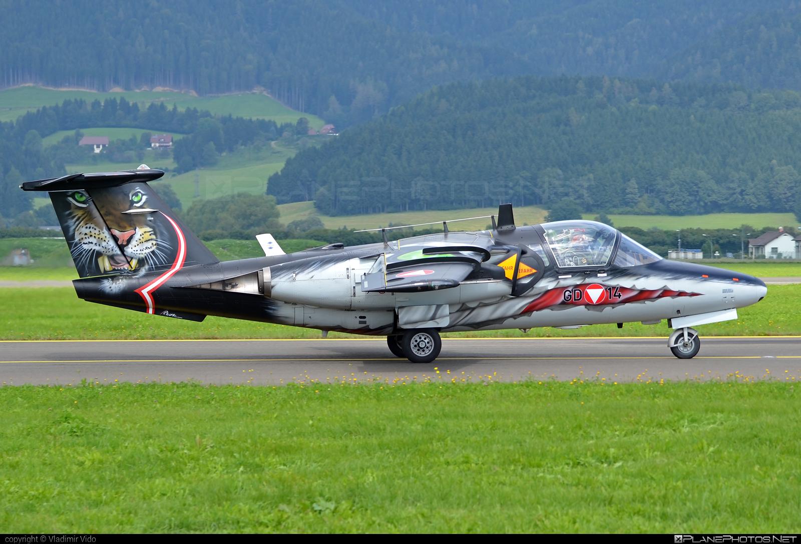 Saab 105OE - GD-14 operated by Österreichische Luftstreitkräfte (Austrian Air Force) #austrianairforce #saab #saab105 #saab105oe