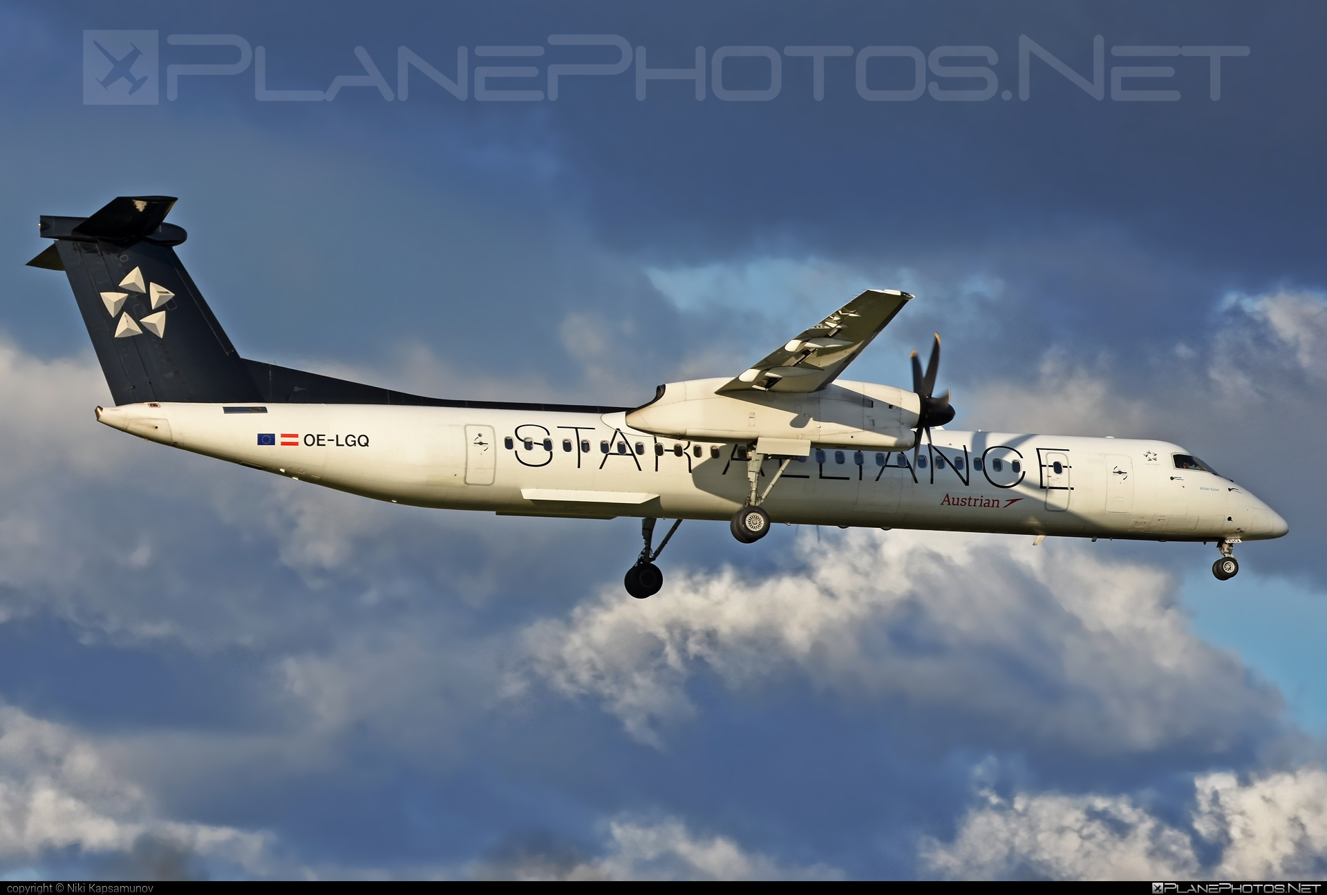 Bombardier DHC-8-Q402 Dash 8 - OE-LGQ operated by Austrian Airlines #bombardier #dash8 #dhc8 #dhc8q402 #staralliance