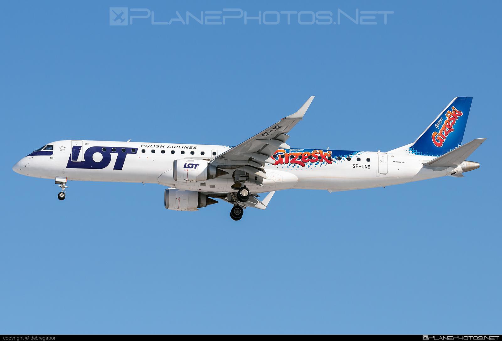 Embraer E195LR (ERJ-190-200LR) - SP-LNB operated by LOT Polish Airlines #e190 #e190200 #e190200lr #e195lr #embraer #embraer190200lr #embraer195 #embraer195lr #lot #lotpolishairlines