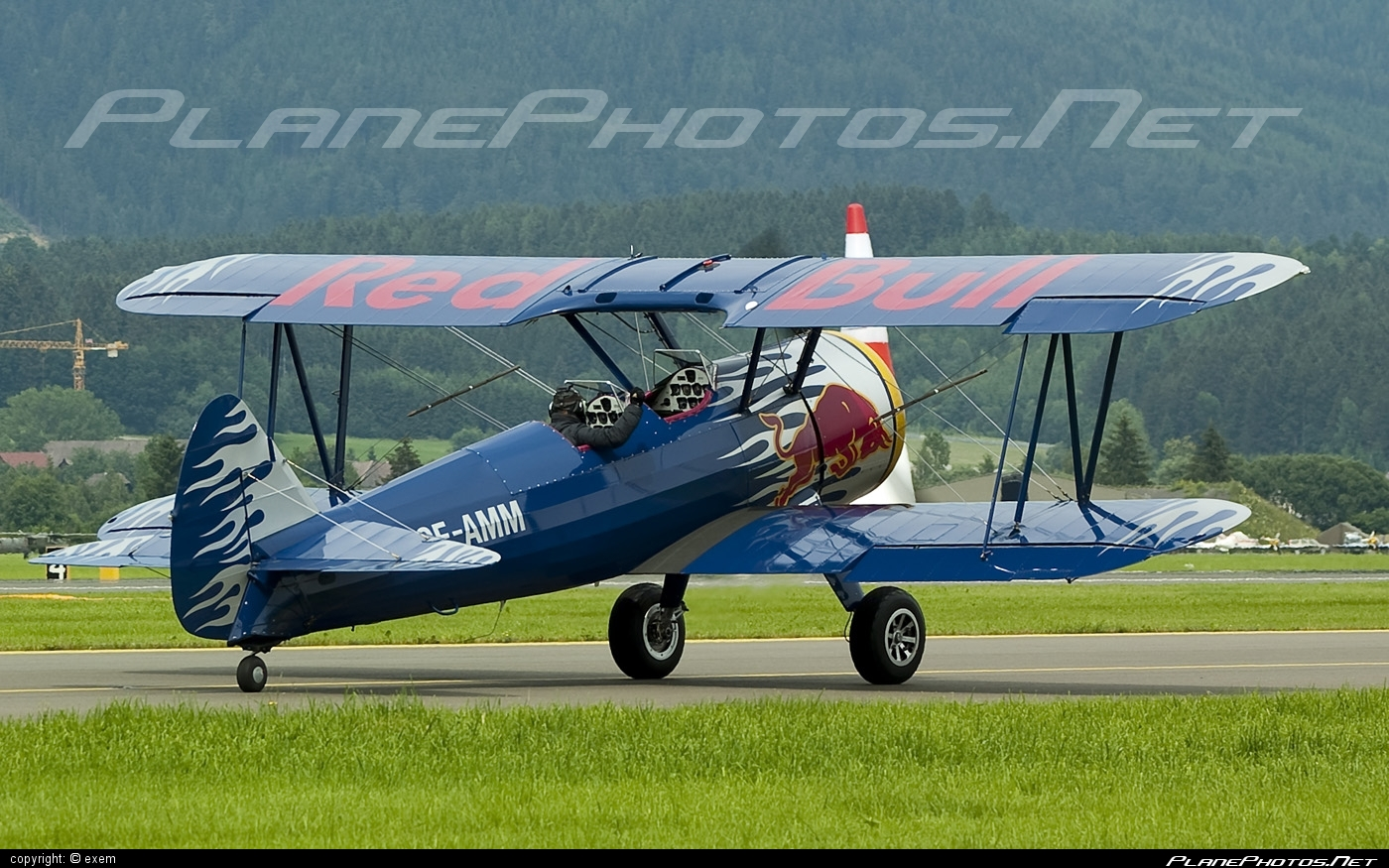 Boeing PT-13D Kaydet - OE-AMM operated by The Flying Bulls #airpower #airpower2009 #boeing #boeingkaydet #boeingpt13 #boeingpt13d #boeingstearman #stearman #theflyingbulls
