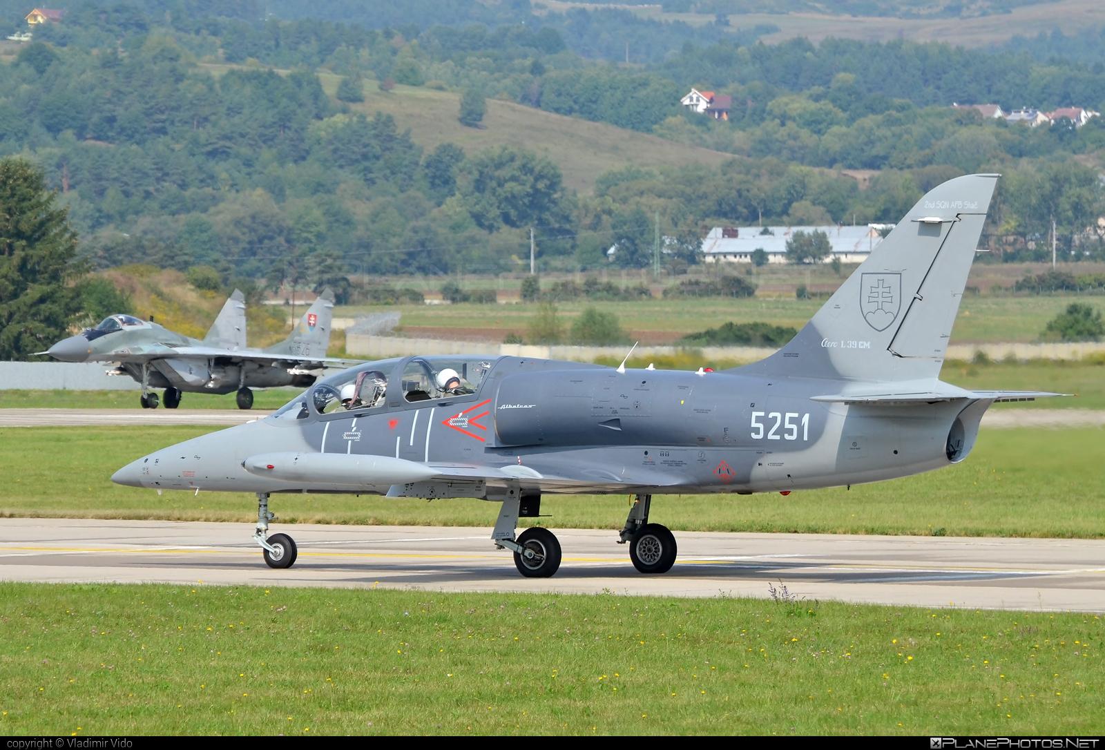 Aero L-39CM Albatros - 5251 operated by Vzdušné sily OS SR (Slovak Air Force) #aero #aerol39 #aerol39albatros #aerol39cmalbatros #albatros #l39 #l39cm #l39cmalbatros #slovakairforce #vzdusnesilyossr