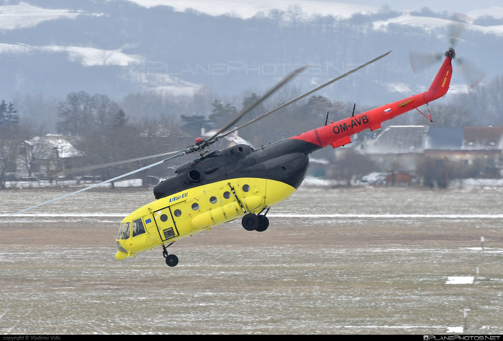 Mil Mi-8MTV-1 - OM-AVB operated by UTair Europe #mil #milhelicopters #utair #utaireurope