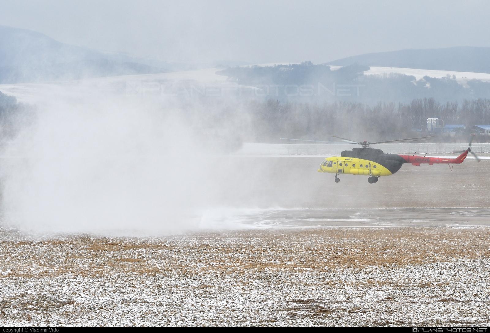 Mil Mi-8MTV-1 - OM-AVB operated by UTair Europe #mil #milhelicopters #utair #utaireurope