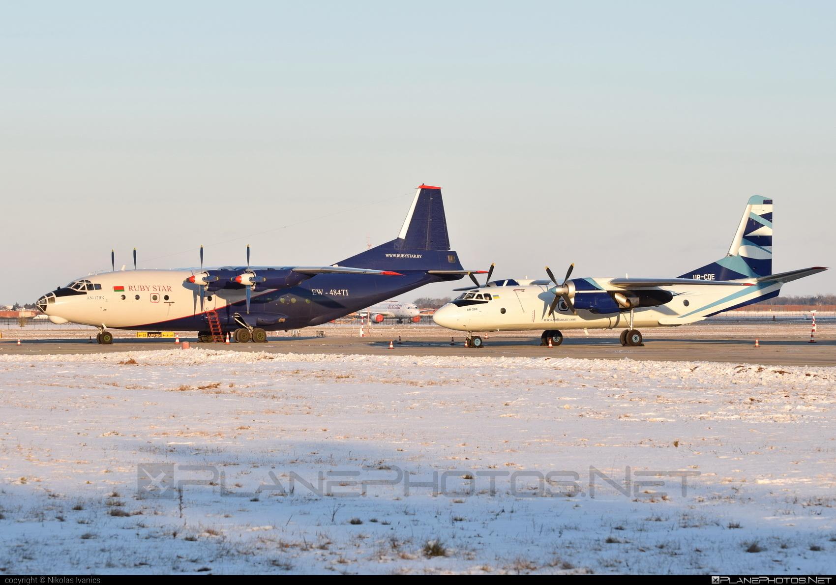 Antonov An-12BK - EW-484TI operated by RubyStar #an12 #an12bk #antonov #antonov12 #rubystar