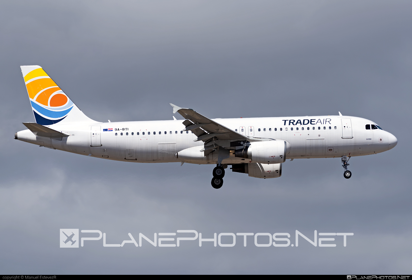 Airbus A320-214 - 9A-BTI operated by Trade Air #a320 #a320family #airbus #airbus320