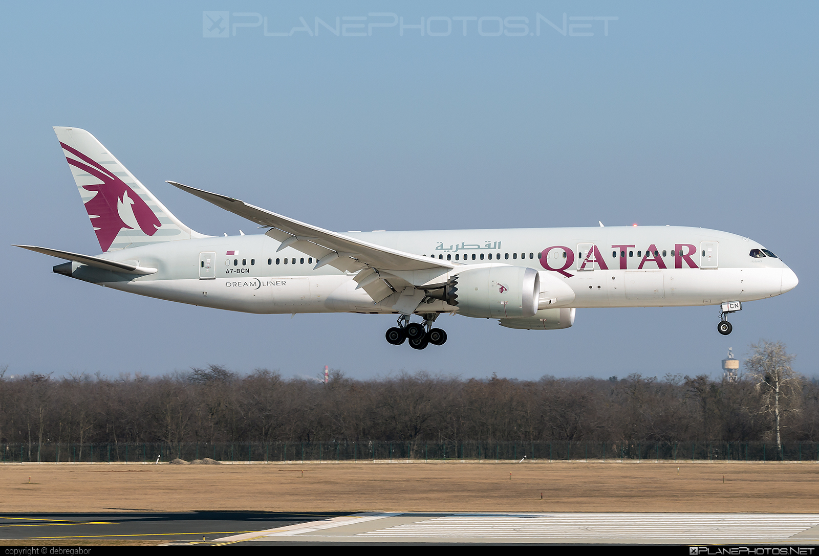 Boeing 787-8 Dreamliner - A7-BCN operated by Qatar Airways #b787 #boeing #boeing787 #dreamliner #qatarairways
