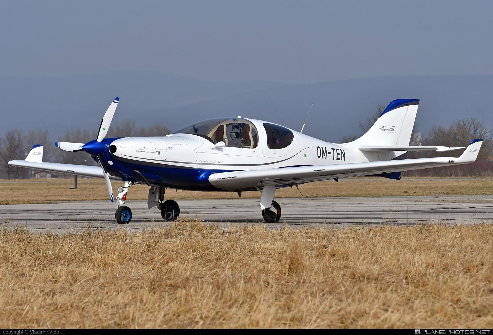 Aerospool WT10 Advantic - OM-TEN operated by Private operator #aerospool