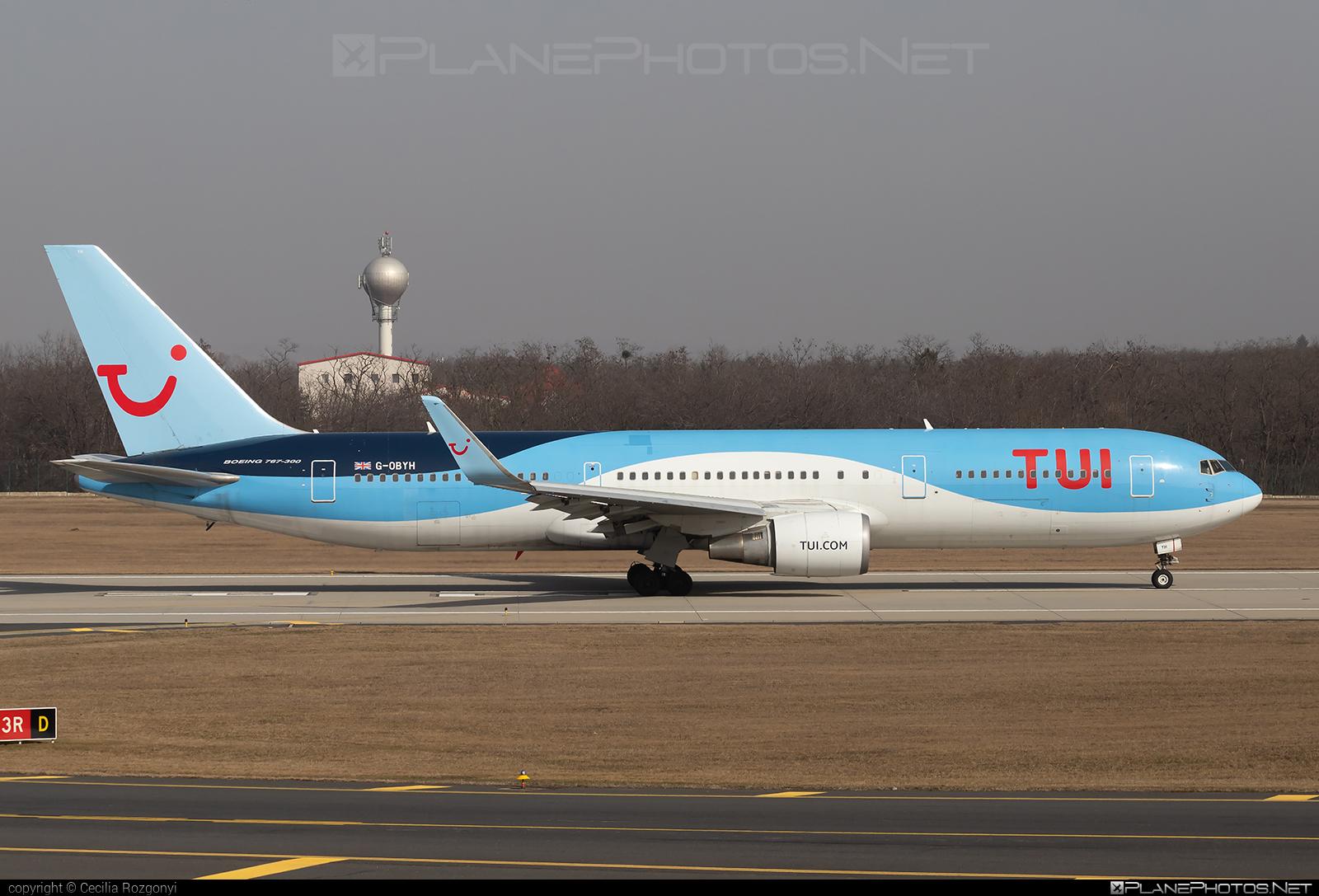 Boeing 767-300ER - G-OBYH operated by TUI Airways #b767 #b767er #boeing #boeing767 #tuiairways