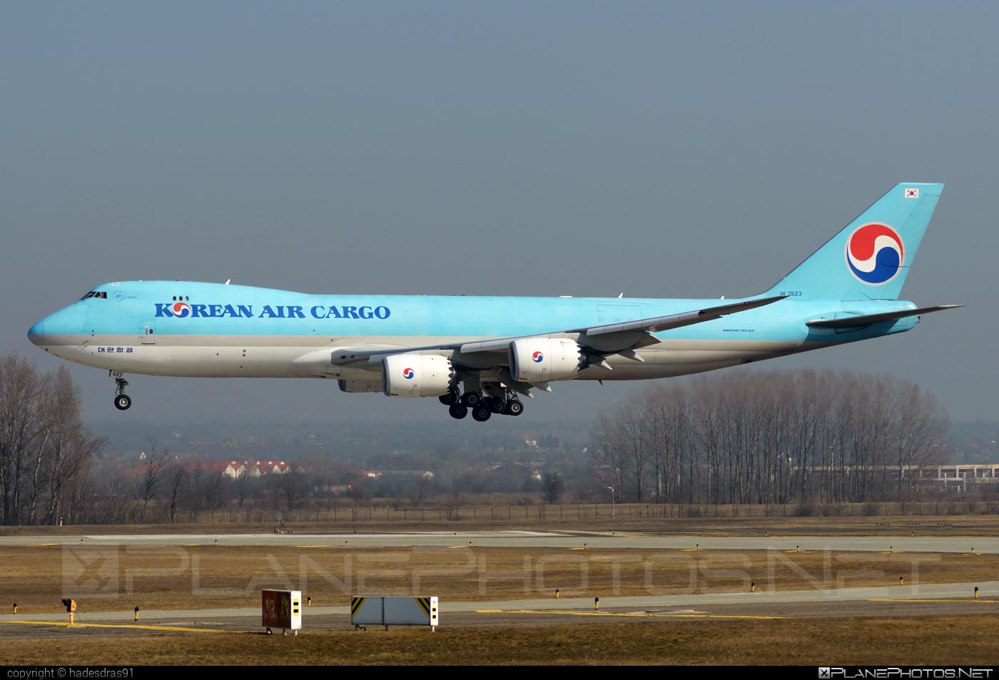 Boeing 747-8F - HL7623 operated by Korean Air Cargo #b747 #b747f #b747freighter #boeing #boeing747 #jumbo #koreanair #koreanaircargo