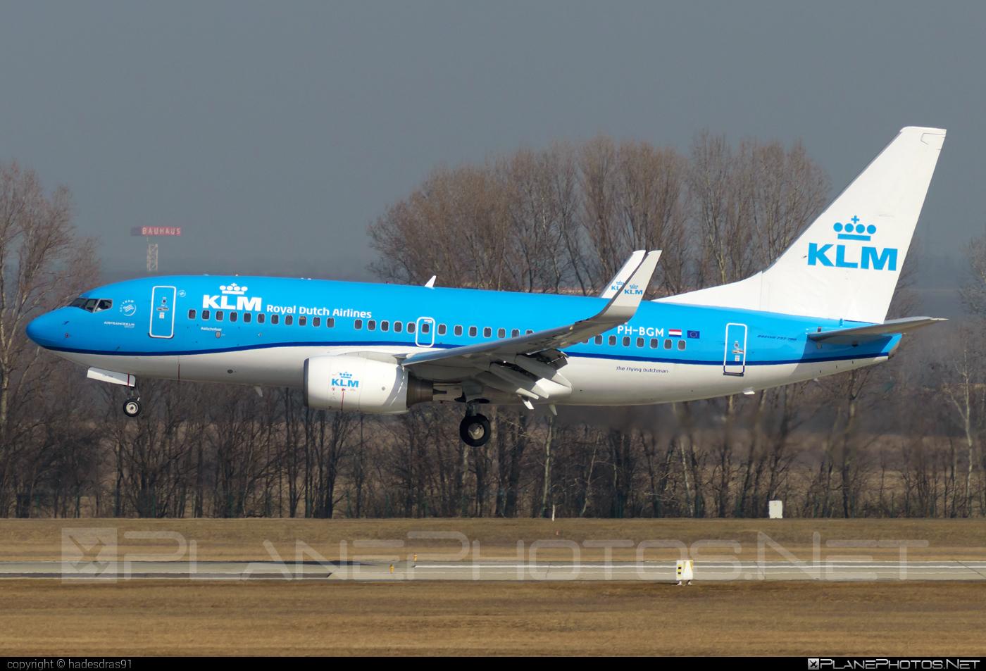 Boeing 737-700 - PH-BGM operated by KLM Royal Dutch Airlines #b737 #b737nextgen #b737ng #boeing #boeing737 #klm #klmroyaldutchairlines #royaldutchairlines
