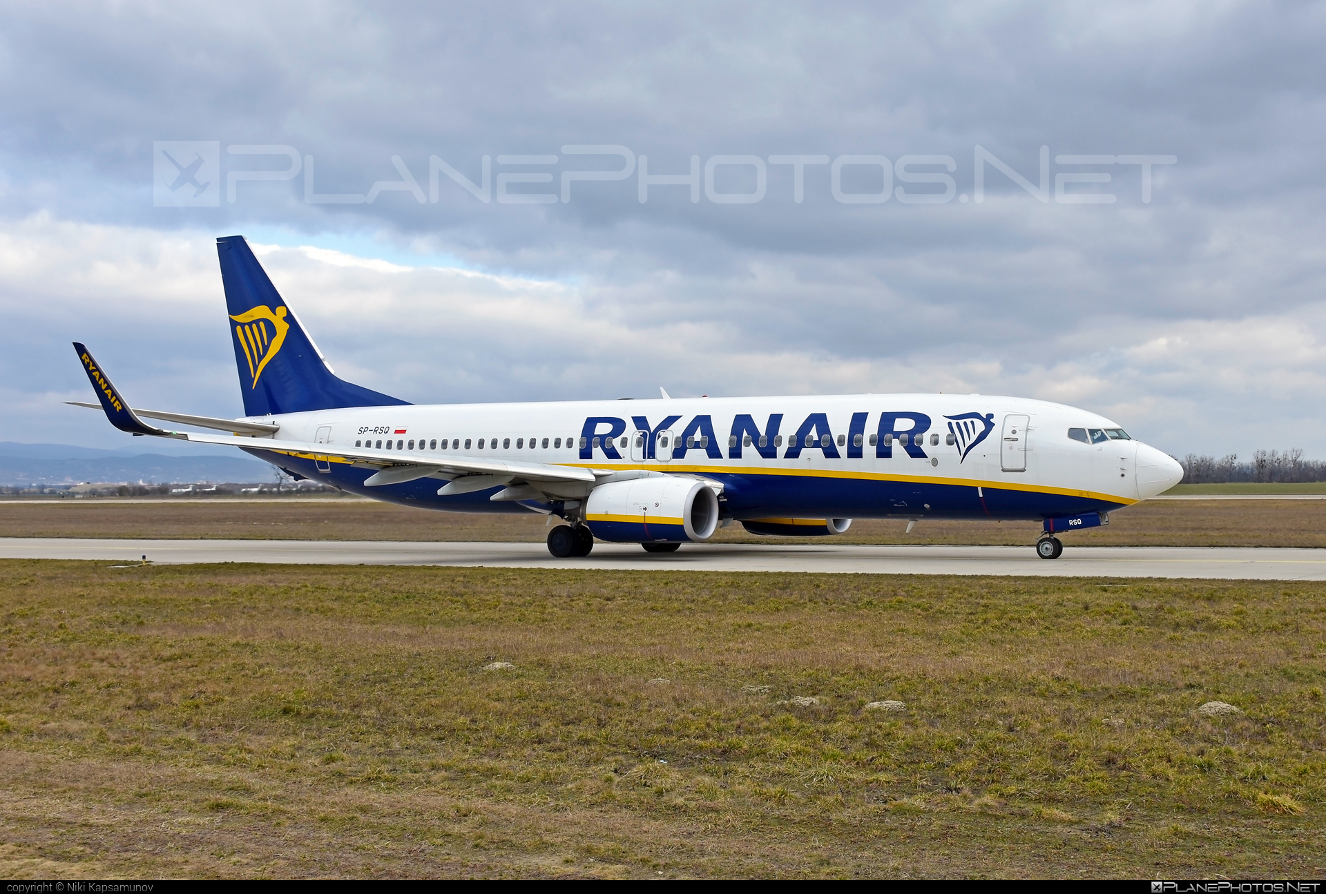Boeing 737-800 - SP-RSQ operated by Ryanair Sun #b737 #b737nextgen #b737ng #boeing #boeing737 #ryanair #ryanairsun