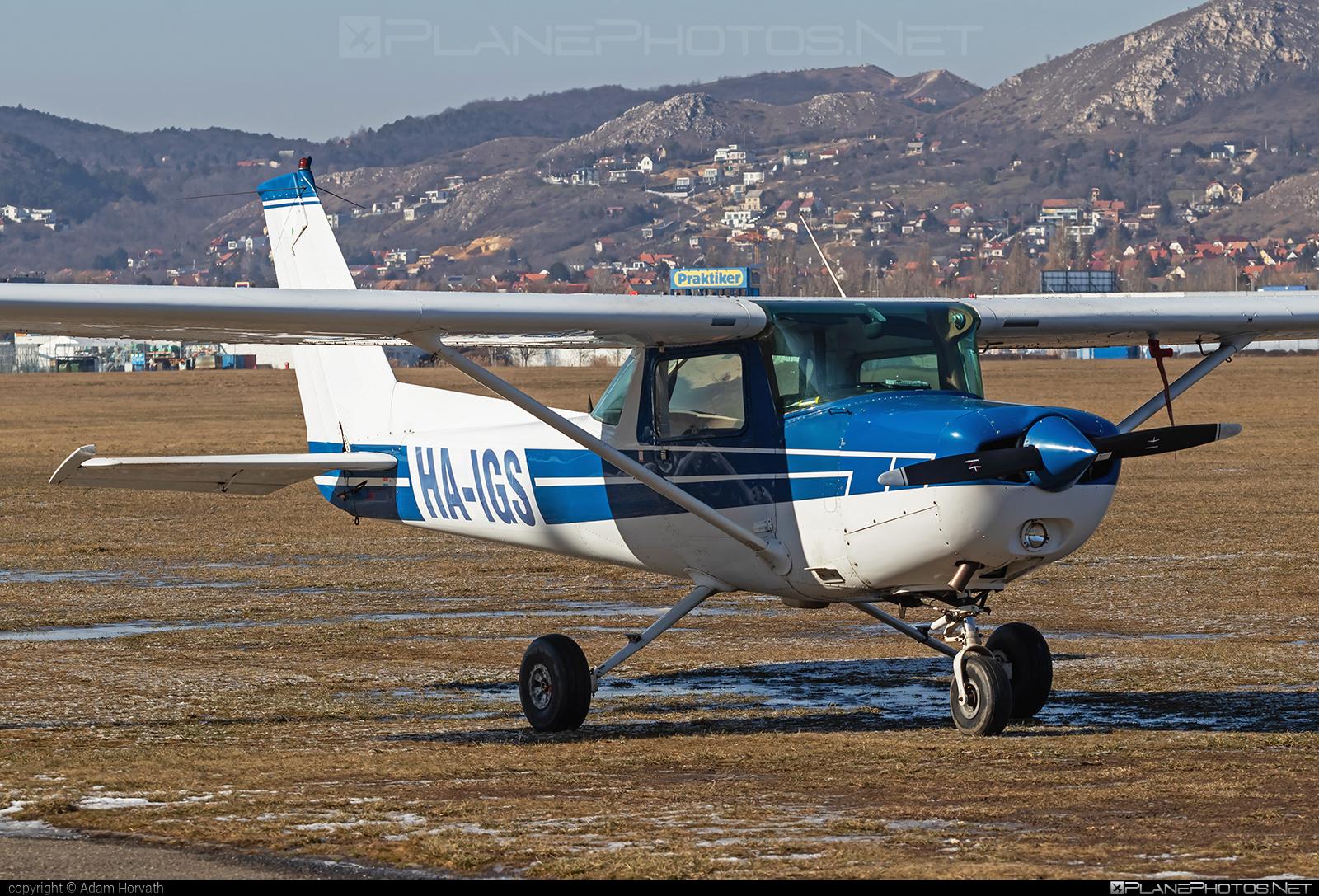 Cessna 152 - HA-IGS operated by Private operator #cessna #cessna152