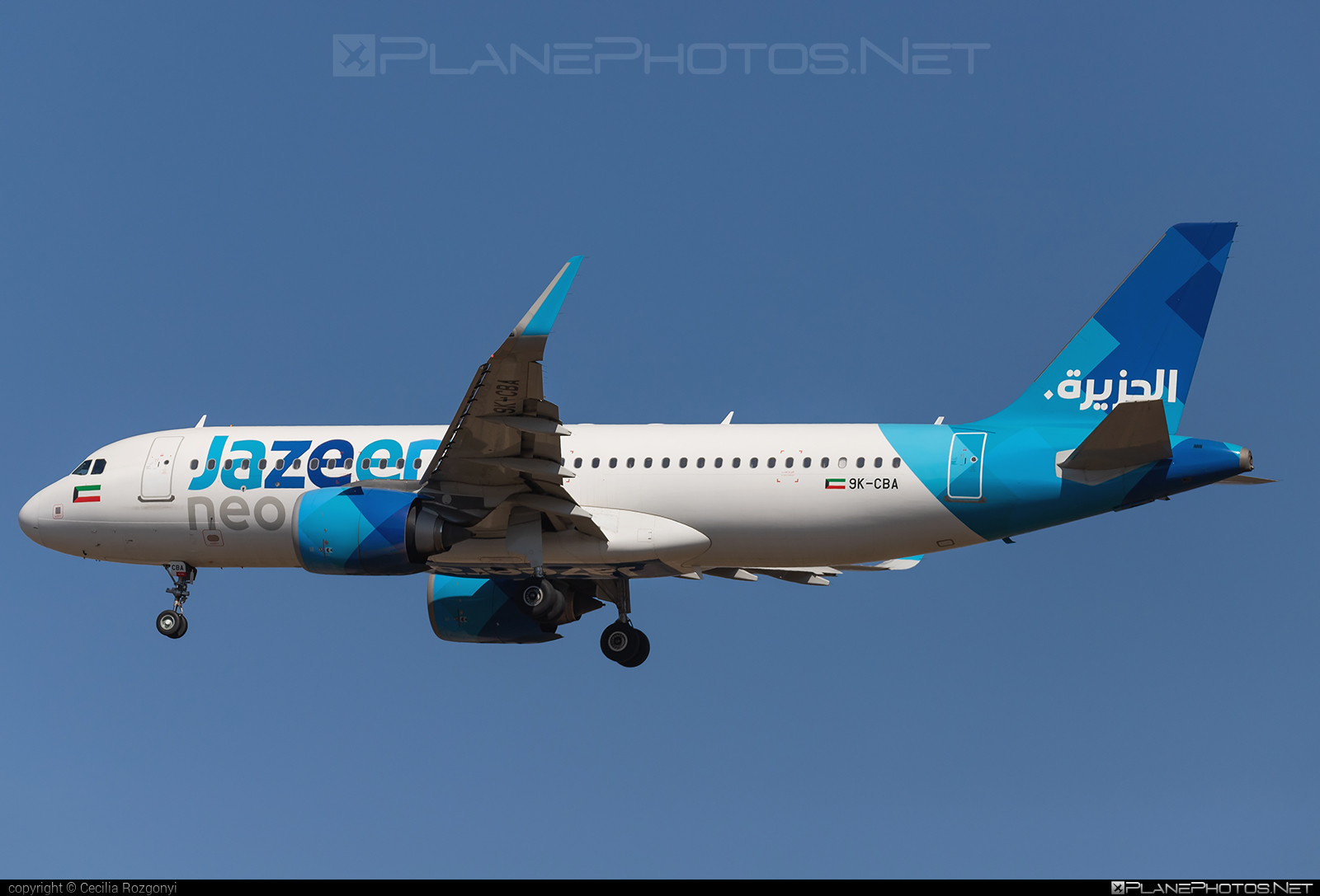 Airbus A320-251N - 9K-CBA operated by Jazeera Airways #a320 #a320family #a320neo #airbus #airbus320