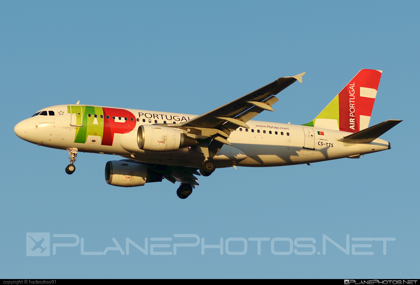 Airbus A319-112 - CS-TTS operated by TAP Portugal #a319 #a320family #airbus #airbus319