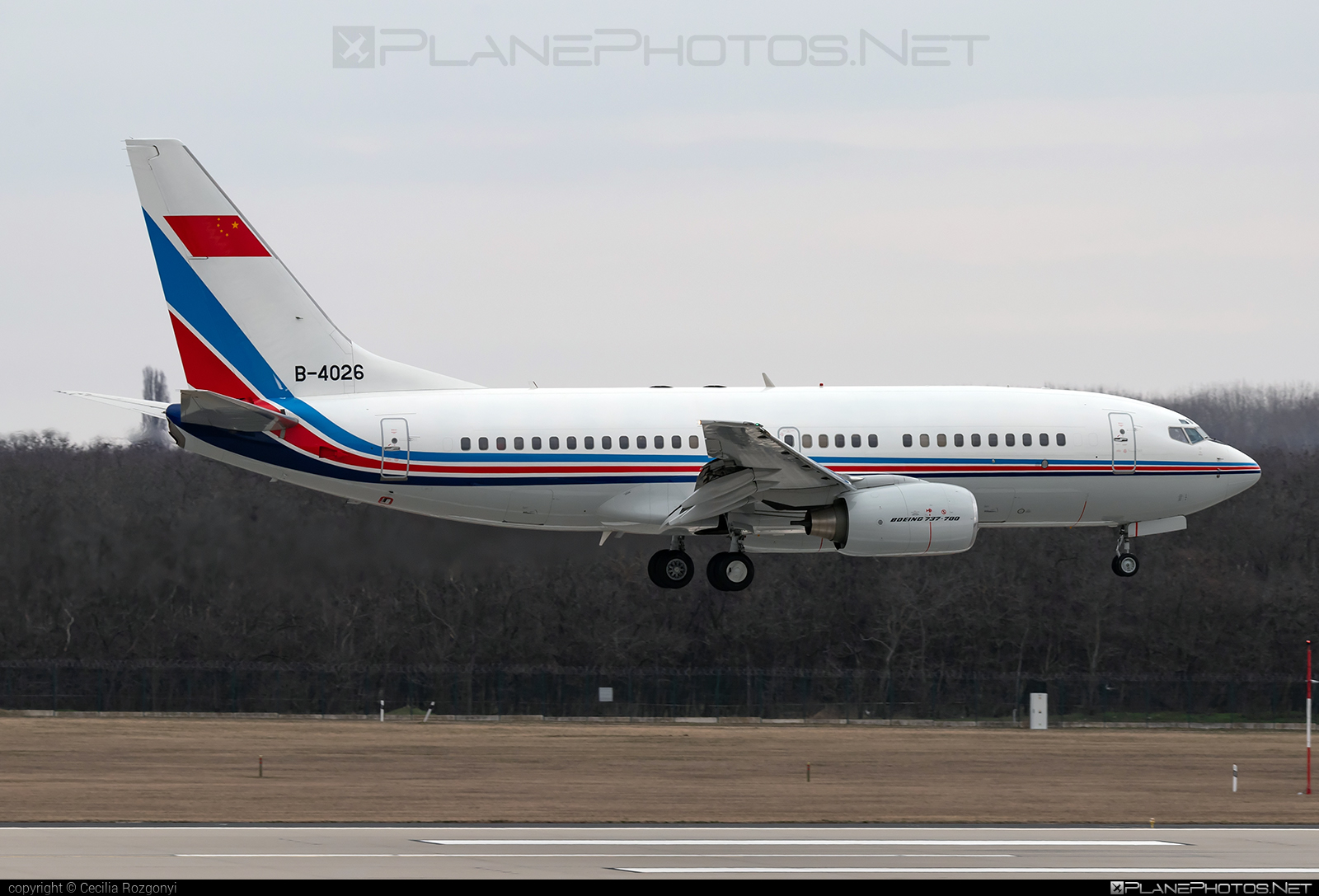 Boeing 737-700 - B-4026 operated by China - Air Force #b737 #b737nextgen #b737ng #boeing #boeing737