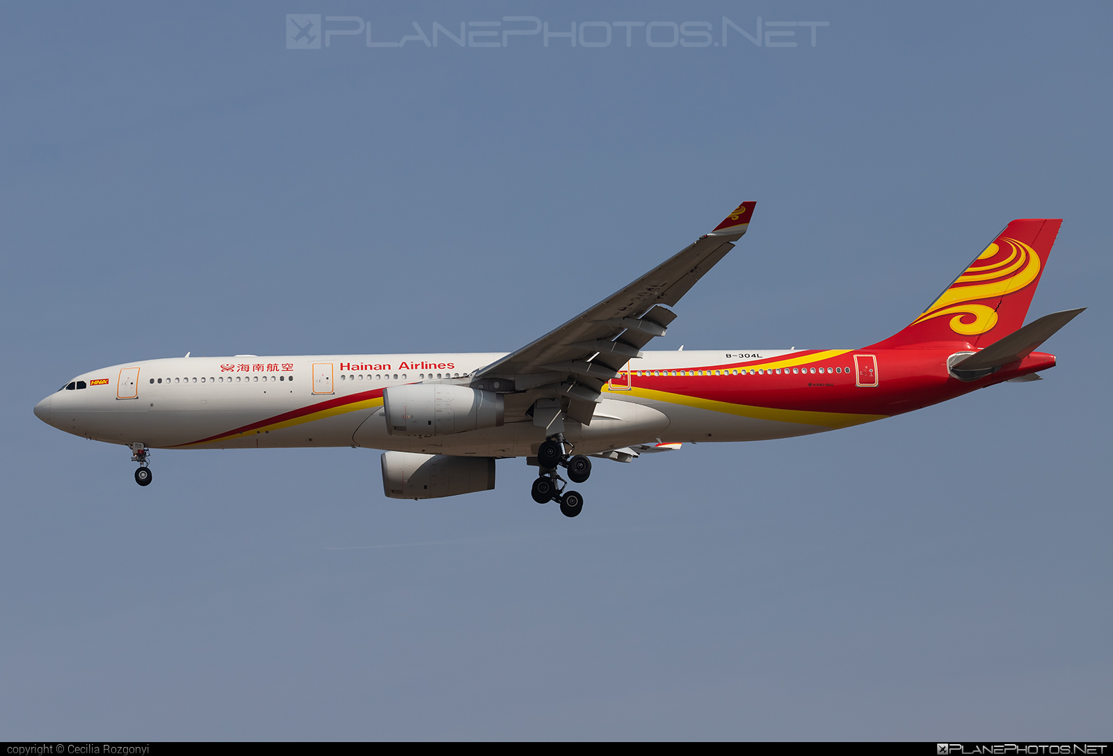 Airbus A330-343 - B-304L operated by Hainan Airlines #a330 #a330family #airbus #airbus330